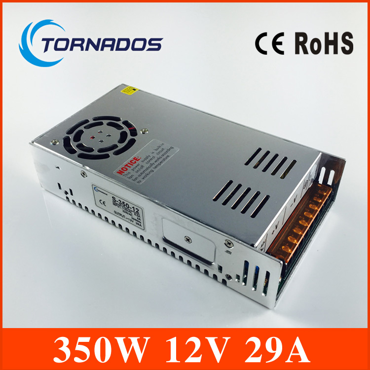 power supply 12V 29A  350W Single Output Switching power supply for LED Strip CNC 3D Print &amp; Led billboard S-350-12<br>