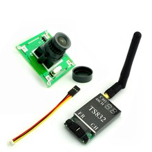 TS832 5.8Ghz 48CH 600mW FPV AV Wireless Transmitter + 700TVL Camera w/ 3.6mm Lens CMOS for QAV ZMR 250 QAV-R 220 Quadcopter