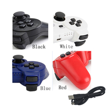 20pcs Wireless virration Bluetooth Game controller Gamepad for playstation 3 For PS3 Joystick with charge cable(China)