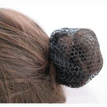 Fashion Stylish 10Pcs Black Invisible Cool Mesh Weaving Wig Hair Net Hair Accessories Hot(China)
