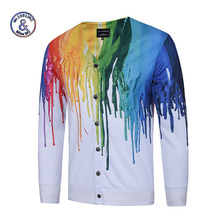 Mr.1991INC men sweater Brand christmas sweater male outerwear cardigan 3D print Casual autumn Winter Men cardigan PlusSize M-3xl