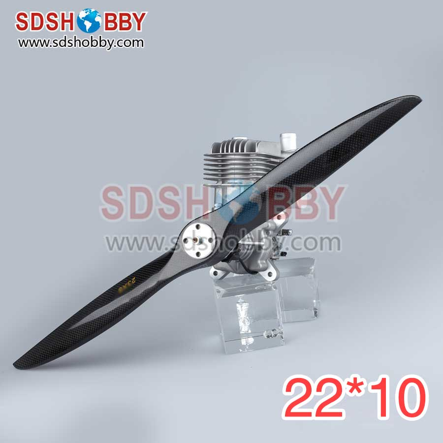 Two Blades Carbon Fiber Propellers 22*10 22x10 (MEJZLIK Type) for RC Gasoline Airplanes<br><br>Aliexpress