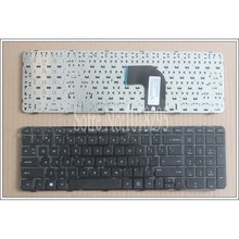 New Keyboard for HP Pavilion G6 G6-2000 G6Z-2000 series US Black laptop keyboard with frame(China)