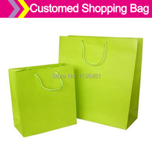 Luxury Paper Shopping Bag Supplier , High Quality Paper Bag Factory,Matte Laminated White Paper Bag