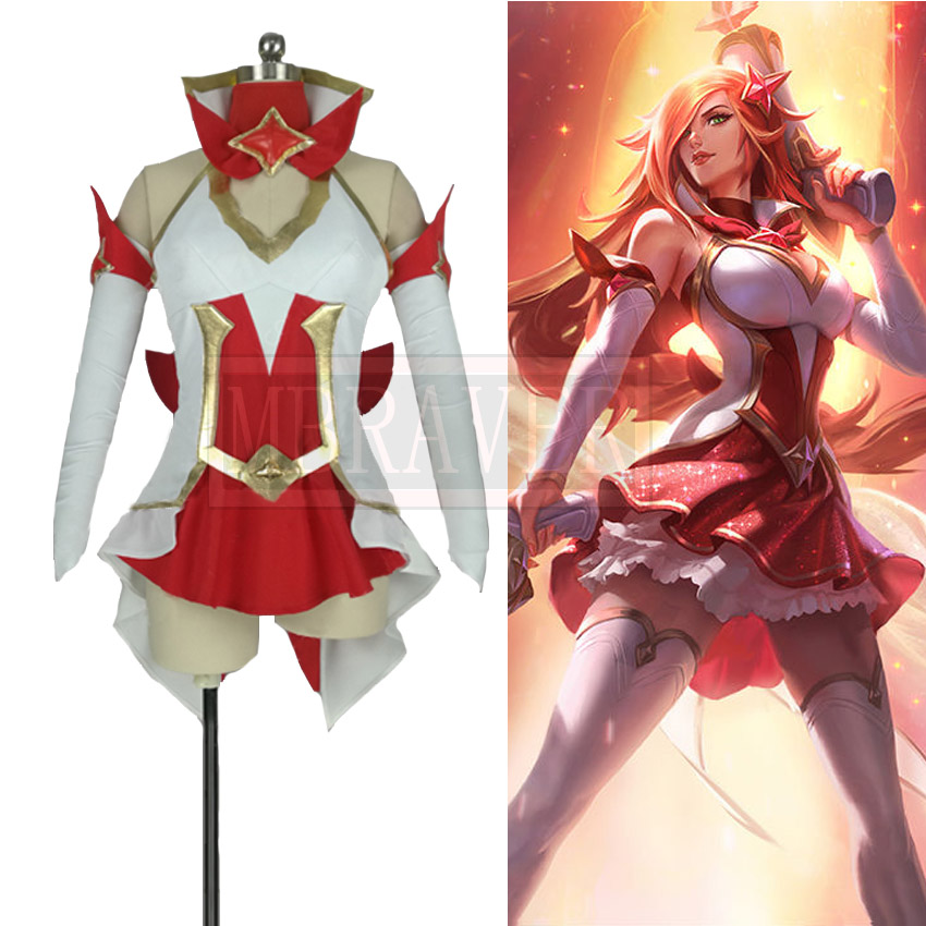 LOL Star Guardian Miss Fortune Cosplay Costume Magical Gril Dress Customized Free Shipping