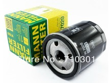 Hot sales, free shipping fee MANN oil filter W7020 for VOLVO C30 S40