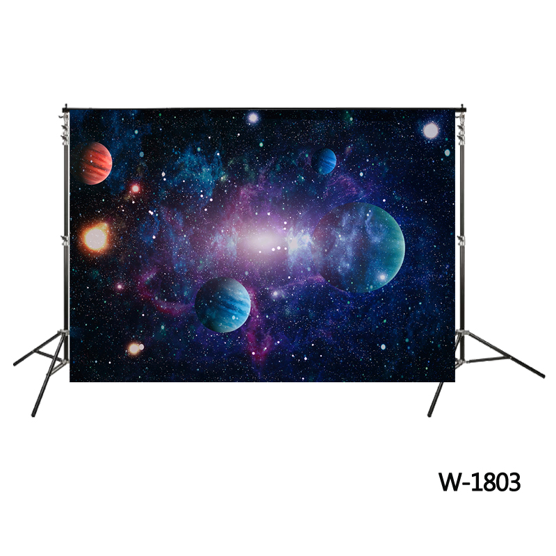 Universe Galaxy Space backdrop birthday party background Native Galaxy backdrop photo booth Nebula Astronomy planets backdrops