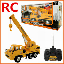1:26 Remote control crane,Electric engineering vehicles,4-channel car,Wireless RC model toys,Oversized toy car,free shipping(China)