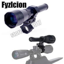 Fyzlcion ND3-50 Night Vision Green Laser designator Flashlight W/Scope Mount+Remote Switch