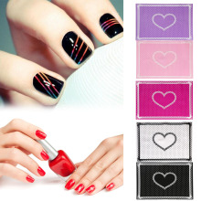 U Beauty Care Nail Art Equipment Advanced Silicone Table Mat Pad Cute Point Lace Foldable Washable Salon Manicure Dropship(China)