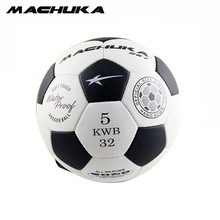 MACHUKA Men's Official Standard 5# Soccer Ball Highly PU Match Football hand sewn Soccer balls Wear-resistant durable Soccer(China)
