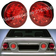 Tail Lights Trunk LED PAIR fits TOYOTA ALTEZZA fits LEXUS IS200 IS300 1998-2005 - Rear Lamps SET RIGHT+LEFT RED(China)