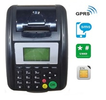 Spanish Supported GPRS SMS Printer Prints Order from Website and Mobile Phone(China)
