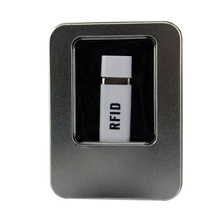 EM4100 portable proximity ID reader 125khz mini usb rfid reader