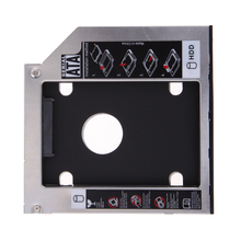 Universal SATA 2nd Hard Disk Drive Optical Bay Second HDD Caddy / Adapter for 12.7mm CD/DVD-ROM Notebook PC