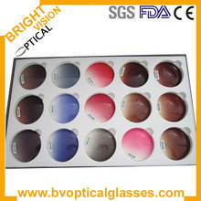 MY DOLI optical lens Polarized sunglasses lenses with different color choice , Free lens cut and frame fitting service(China)