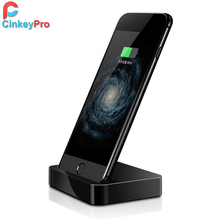CinkeyPro Portable Charger Dock For Apple iPhone 6 5s 7 Desktop USB Charger Adapter For Mobile Phone Device Charging Station