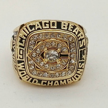 Factory Direct Sale Good Quality Factory price 1985 Chicago Bears Super Bowl championship rings