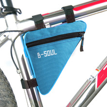 Cycling Road Bike Bicycle Bag Pannier Bag Front Tube Frame Pouch Bag for A Bicycle Bike Bicycle Accessories Bisiklet Aksesuar(China)