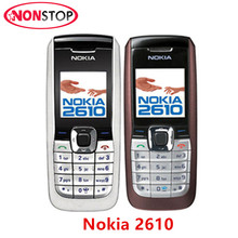 2610 Cheap Original Nokia 2610 Unlocked Mobile Phone MP3 GSM Cellphone Good Quality Free Shipping(China)