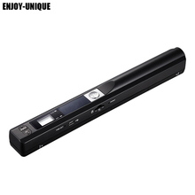 Mini Portable Digital Scanner 900DPI Handyscan Portable Wireless A4 Handhold Scanner Pen Document Scanner(China)