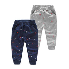 Kz-6181 Baby Anchor Long 2017 Spring Clothes New Pattern Male Children's Garment Children's Garment Children Leisure Time Pants(China)