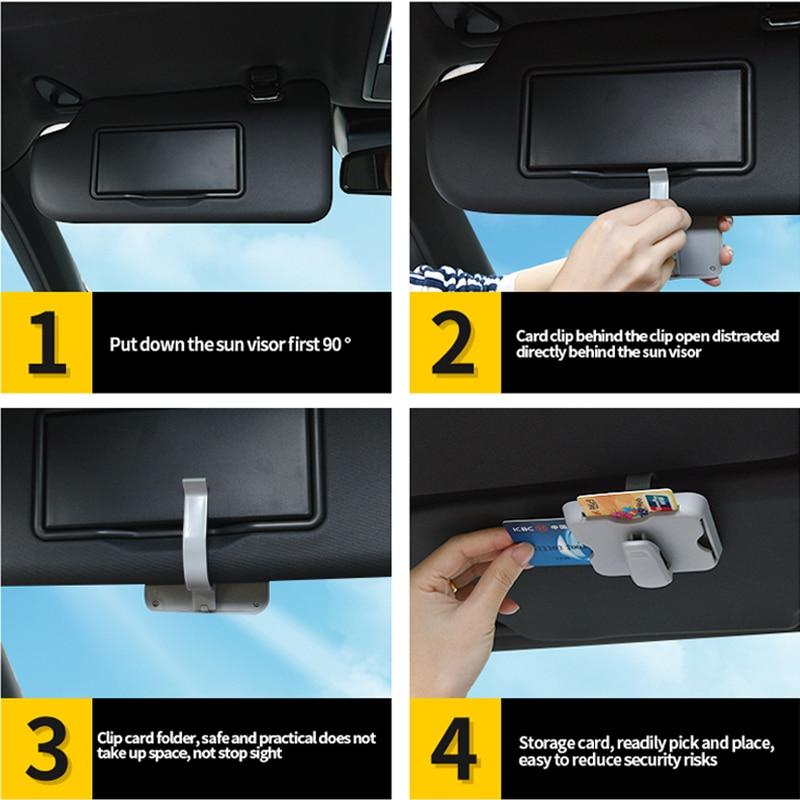 Car-Sunglasses-Clips-Box-Organizer-Case-Sun-Visor-Sunshade-Bag-Stowing-Tidying-Storage-Bags-Card-Holder