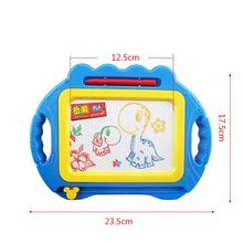 Educational Kids Doodle Toy Erasable Magnetic Drawing Board + Pen Xmas New kids toys gift for children brinquedos #TX(China)