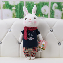 Stuffed Baby Kids Toys for Girls Birthday Christmas Gift 11 Inch Kawaii Plush Sweet Cute Lovely Tiramitu Rabbits Mini Metoo Doll