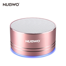 NUBWO Portable Bluetooth Speaker with Mic/Speakerphone,AUX Line,Memory Card Playback Smartphones for Apple/Android Phone(China)