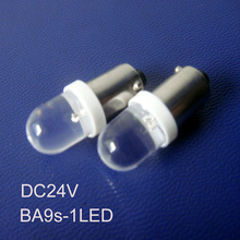 High quality 24V freight car led BA9S bulbs,ba9s truck 24v LED indicating lamp, led lights BA9S 24vdc free shipping 100pcs/lot