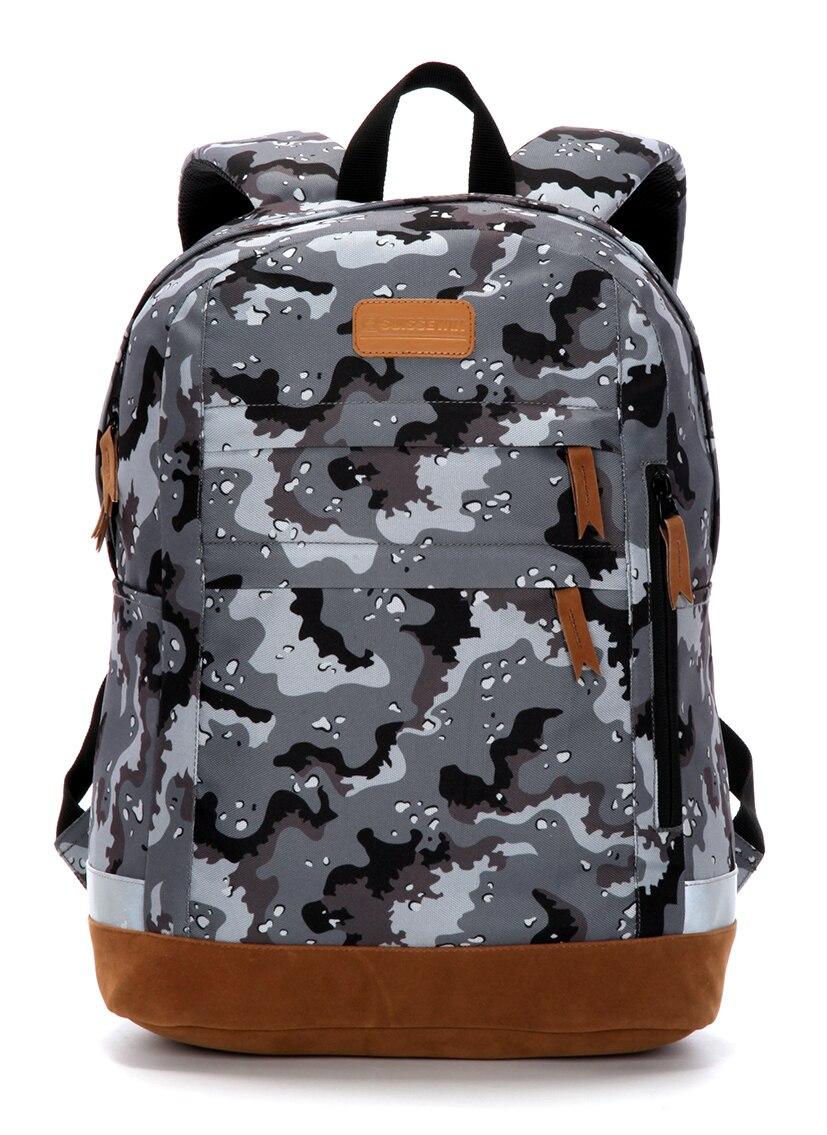 Suissewin  Camouflage Teenage Backpack Men school boy girl child  Backpack Waterproof  Backpack Swisswin High Quality Backpack <br>
