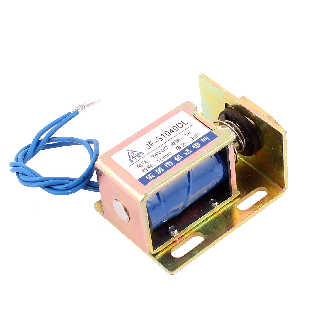 UXCELL Jf-S1040dl  24V 1A 25N Force Energy Saving Tractive Solenoid Electromagnet<br><br>Aliexpress