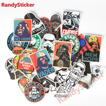 25 Kinds Star War Waterproof Fuel Cap Creative Sticker For Skateboard Laptop Luggage Phone Styling Home Toy Sticker(China)