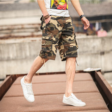 2017 New Cargo Shorts Military Style USA Size 29-44(China)