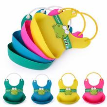 New Bib Stereo Disposable Bib Kids Bibs Children Baby Waterproof Silicone Pick Rice Pocket Cute Boy Girls Bibs Baberos Bandana