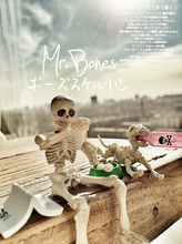 Cute Fashion design Mr. Bones Pose Skeleton human skeleton model with dog table desk book mini figure kids toys collectible gift