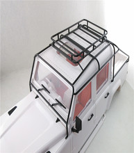 Metal Roll Cage Luggage Tray For 1/10 SCALE RC4WD RC Land Rover Defender D110 D130 JK 5 Doors PICK UP Hard Body(China)