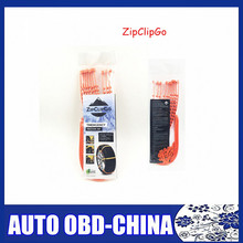 10 PC/lot Car ZipClipGo Emergency Traction Aid Snow Life Safety Aid Wheel Slip Chain For Cars SUV's Trucks Anti Wheel Slip Chain