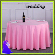 10pcs 274*274cm round polyester table skirt cheap wedding for tables free shipping(China)