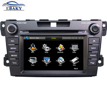 7 inch Professional Wince Car Multimedia DVD Player For Mazda CX-7 2007- With GPS Navigation Free Map