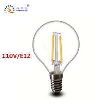 Buy RXR G14 LED bulb 110V E12 2w 4w 6w G45 LED Clear Edison Vintage LED Filament light Candle Ampoule LED Light bulbs for $2.44 in AliExpress store