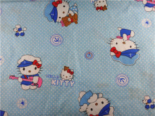 15052620,Free Shipping 150cm*150cm 100% Cotton fabric hello kitty for Sewing Patchwork Bedding Fabric DIY Baby Cloth Textiles