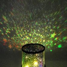 AA Table Lamp LED Lighting Kids Gift Romantic Starry Sky Nightlight Projector Bedroom Star Cosmos Master Lamp Night Light