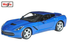 Maisto 1:24 2014 Chevrolet Corvette Stingray C7 Coupe Diecast Model Car Toy New In Box Free Shipping