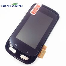 skylarpu LCD screen for GARMIN EDGE 1000 bicycle GPS LCD display Screen with Touch screen digitizer Repair replacement