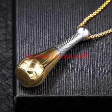 Charming Silver Gold Color Open Perfume Bottle Pendant Elegance Women's Men's Stainless Steel Trendy Box Chain Jewelry