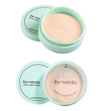 By Nanda  3 Color Natural Oil-control Pressed Powder Face Powder Makeup Foundation Skin Brighten Powder Makeup powder