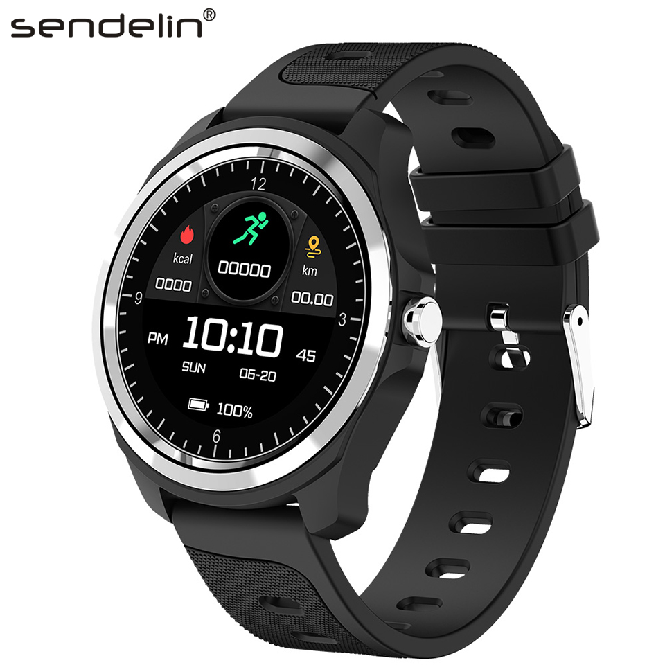 Smart Watch KW05 Bluetooth Call for Android with Heart Rate Monitor Camera Control Phone Watch Fitness Bracelet Activity Tracker