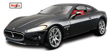 Maisto Bburago 1:24 Maserati GT Gran Turismo Diecast Model Car Toy New In Box Free Shipping